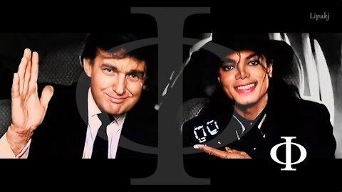 Trump per Michael Jackson - La storia di un vero amico usato dai media, per strumentalizzare gli abusi sui minori. Ma chi è davvero la parte oscura?