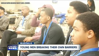 Young men work to break their own barriers