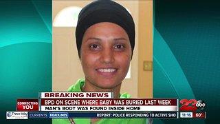Man's body was found inside home