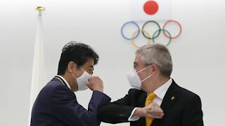 International Olympic Committee President Visits Tokyo