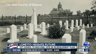Denver City Council to vote on Loretto Heights plan