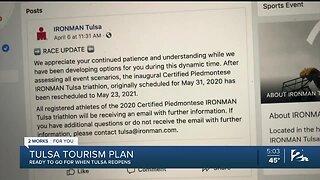 Tulsa tourism plan