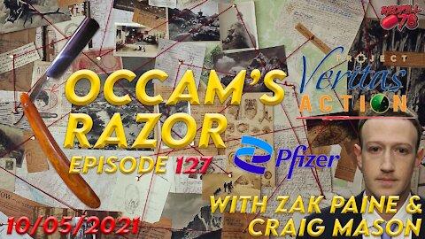 Occam's Razor Ep. 127 with Zak Paine & Craig Mason - Bad Day For Zuck & Pfizer