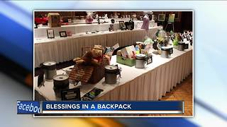 Blessings in a Backpack holds annual fundraiser this month
