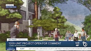 Public can now comment on Trails at Carmel Mountain Ranch development project