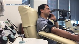 COVID-19 survivor donates plasma