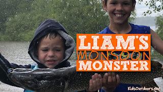 S1:E9 Liam's Monsoon Monster Pike   Kids Outdoors