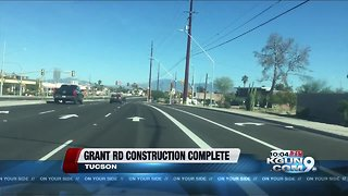 Phase two of Grant Road project complete, businesses react
