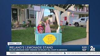 Good Morning Maryland from Ireland's Lemonade Stand