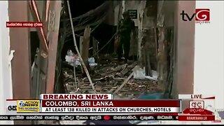 Dozens Killed in Sri Lanka Attacks
