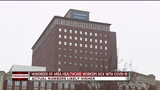 Hundreds of metro Detroit healthcare workers sick with COVID-19
