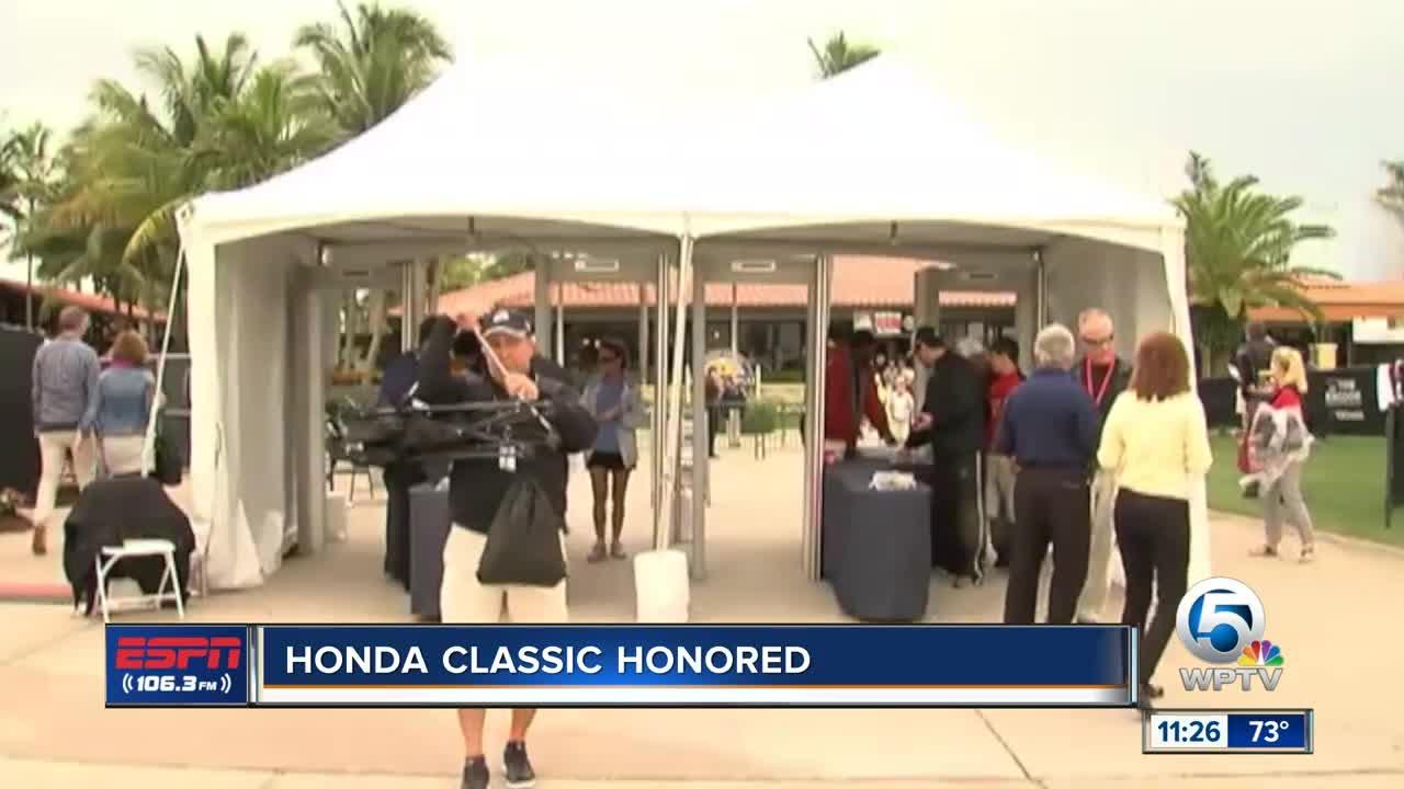Honda Classic honored 11/21