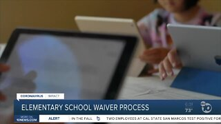 Elementary schools can apply for waivers to reopen in CA