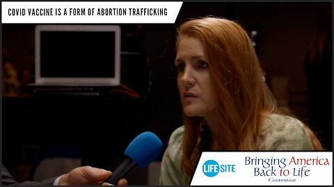 COVID vaccine is a form of abortion trafficking