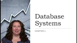 Database Systems - Chapter 1
