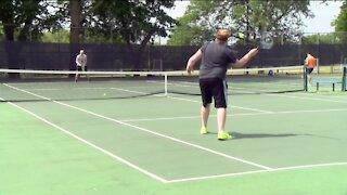 Bringing people together through tennis