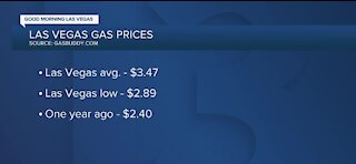 Gas prices continue to climb in Las Vegas ahead of summer travel