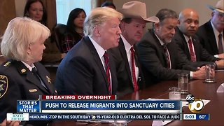 Report: White House wanted to release migrants into sanctuary cities
