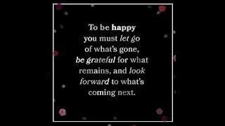 To be happy [GMG Originals]