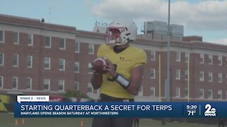 Terps' starting quarterback remains a mystery
