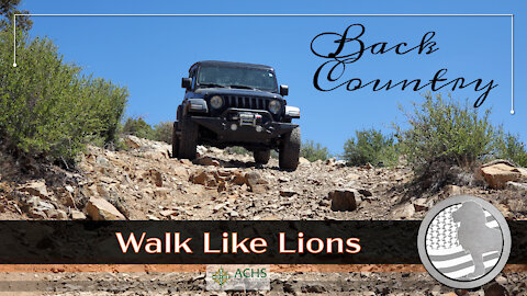 """""""Back Country"""" Walk Like Lions Christian Daily Devotion with Chappy May 4, 2021"""