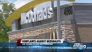 Tucson teen takes on McDonald's; sexual harassment claims
