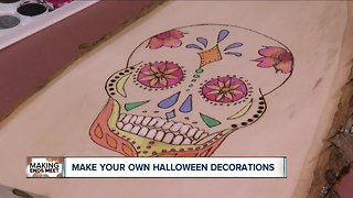 Save money and make durable Halloween decorations