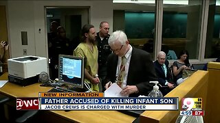Father charged with murder in death of 1-month-old son