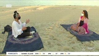 Beach Yoga returns to Cape Coral beach