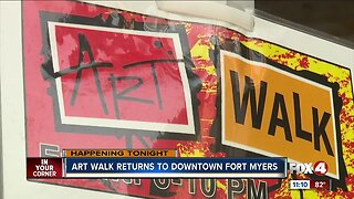 Art Walk hosted in Fort Myers