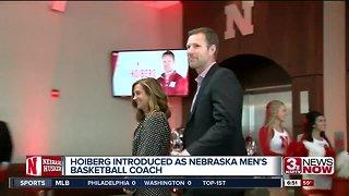 Hoiberg introduced as Nebraska men's basketball coach