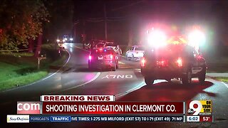Authorities investigate shooting in Clermont County