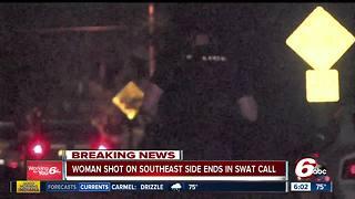 Three in custody after shooting, SWAT call
