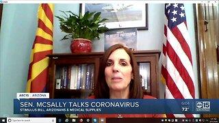 Arizona Senator Martha McSally talks coronavirus