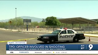 Police: Suspect identified in officer-involved shooting on River Road