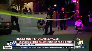 Police search for shooter in Chollas Creek death