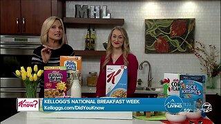 Kellogg's National Breakfast Week - Parker's Plate