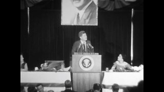 President Kennedy visits Milwaukee (May 12th, 1962)