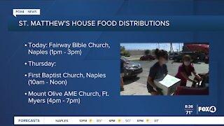 St. Matthews house provide food to the needy
