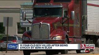 Blair residents upset with heavy truck traffic
