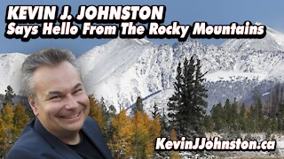 Kevin J Johnston Shows You The Rocky Mountains Near Lake Louise Alberta