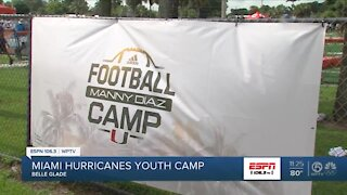 Miami Hurricanes youth camp