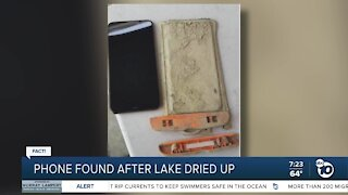 Fact or Fiction: Phone found in lake