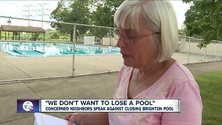 Concerned neighbors speak out against closing Brighton Pool
