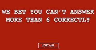 General Knowledge Quiz #10298