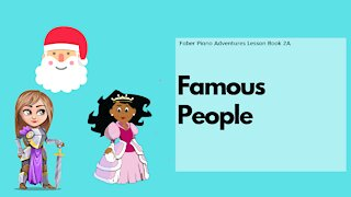 Piano Adventures Lesson Book 2A - Famous People