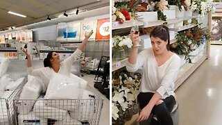 Mum Makes Hilarious Music Video Inside Her Favourite Department Store