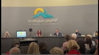 Scottsdale Unified School District board shouted out of the building!-1495