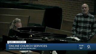 Online church services