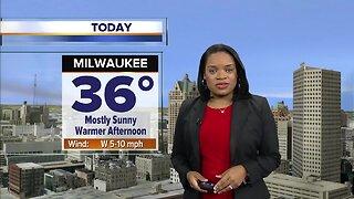 Milwaukee weather Thursday: Mostly sunny and back above freezing